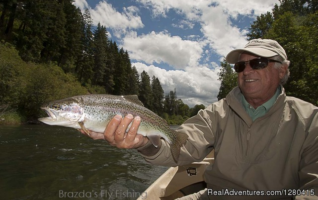 Brazda's Fly Fishing, scenic trout fishing trips.