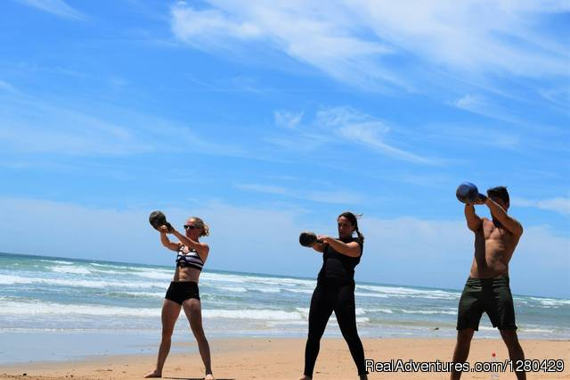 Beach training - May 2016 - Fitness & health training camp in Andalucia