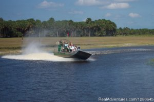 Midway Airboat Rides on St. Johns River Eco Tours Orlando, Florida