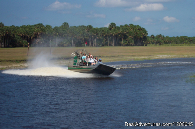 Midway Airboat Rides on St. Johns River Orlando, Florida Eco Tours