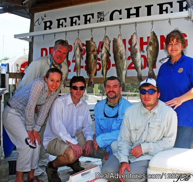 The Reef Chief Charters Port Richey, Florida Fishing Trips