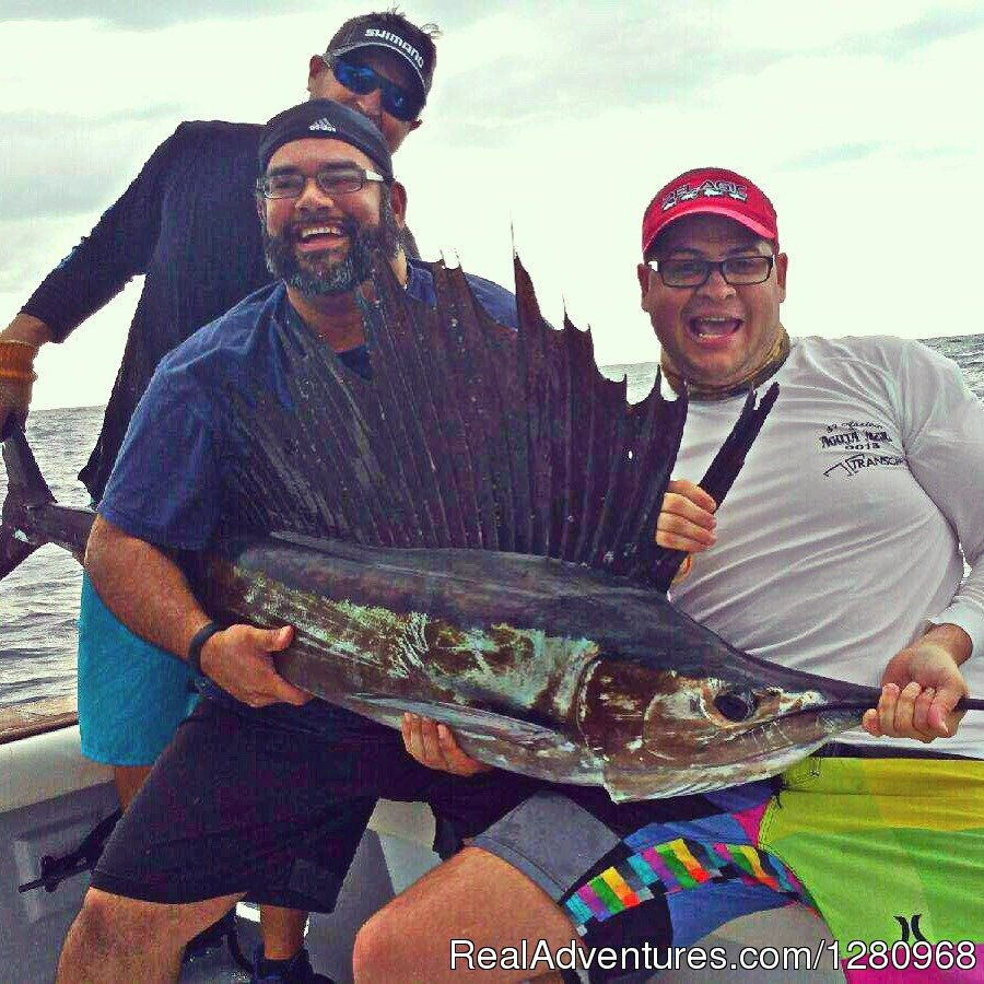 Sailfish on Fired Up Charters | Image #3/13 | Fired Up Fishing Charters