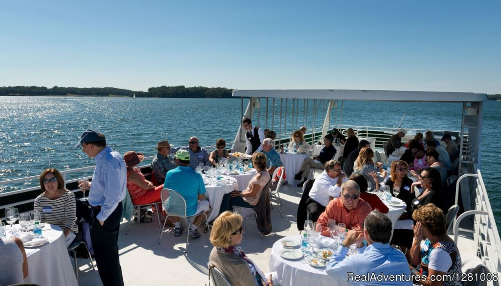 The Lanier Islands Wine Cruise on Lake Lanier