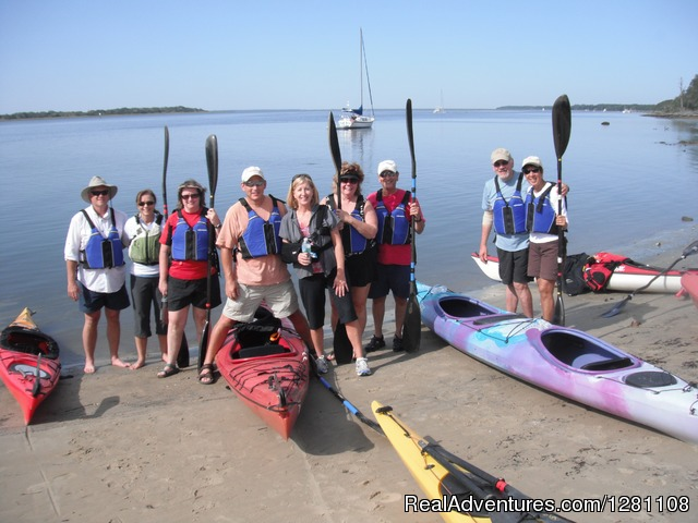 Kayak to Cumberland Island - Guided Kayak Tours and Group Adventures