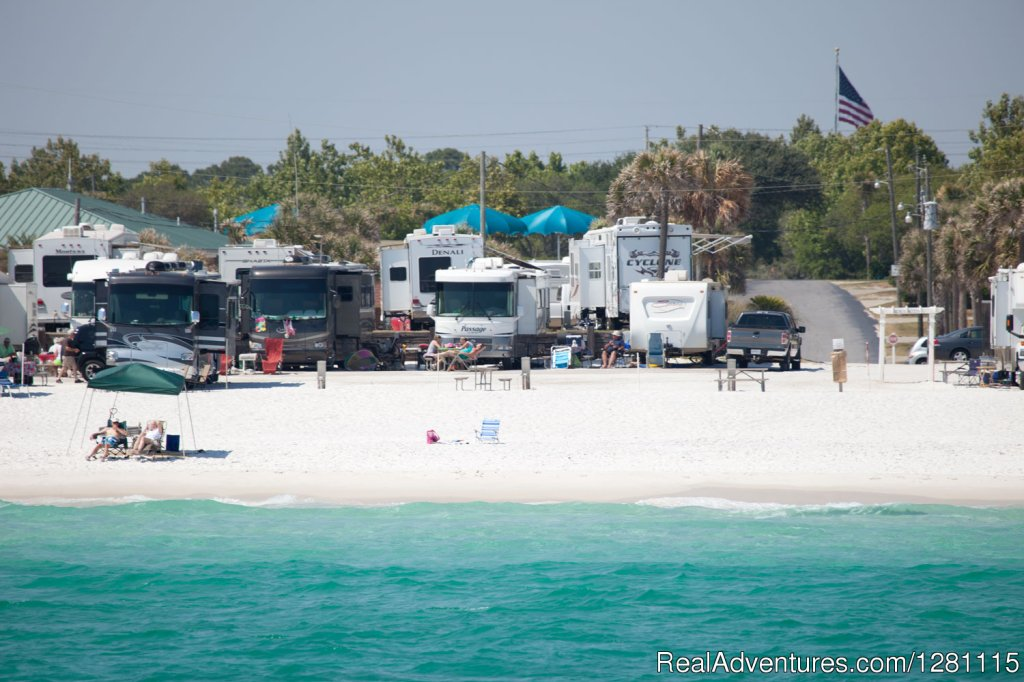 Camp Gulf in Destin Florida Destin, Florida  Campgrounds & RV Parks