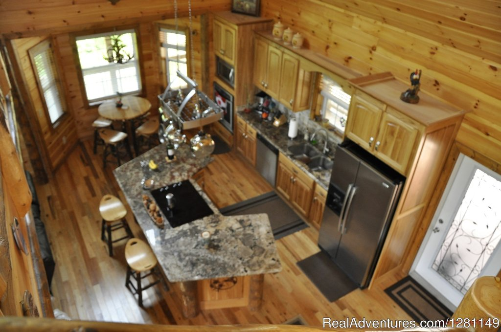 Blue View Mountain Vacation Cabin Rental Murphy, NC | Image #4/7 | Luxury Dog-Friendly Cabins w/ Fence-In & Hot-Tub