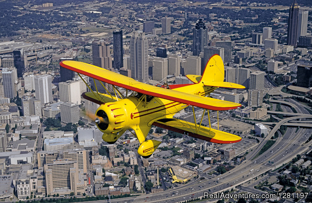 Biplane Rides Over Atlanta Inc. Atlanta, Georgia Scenic Flights