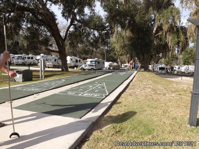 Shuffleboard - Belle Parc RV Resorts