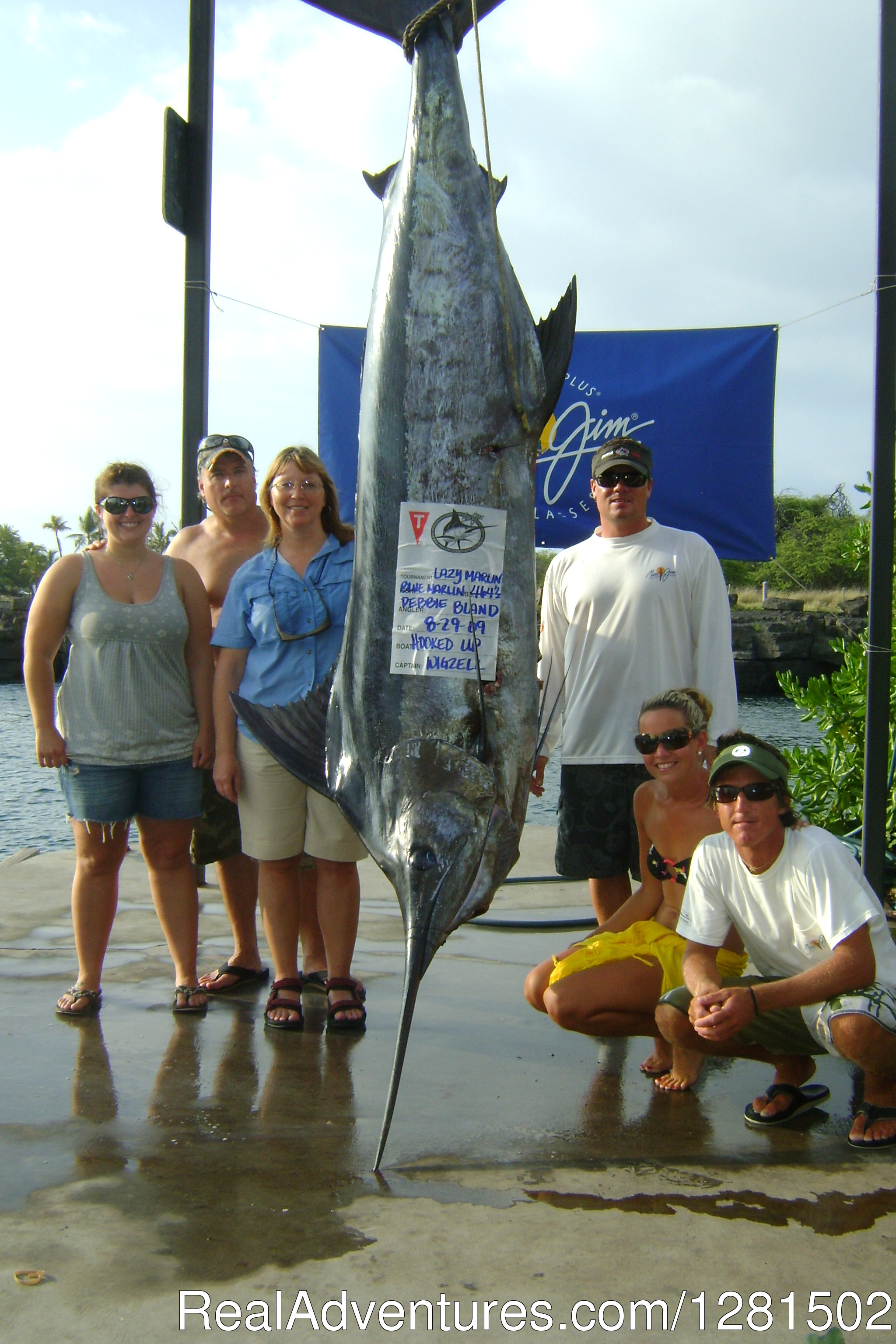 1st place Marlin Tournament | Image #3/5 | Hooked Up Sportfishing