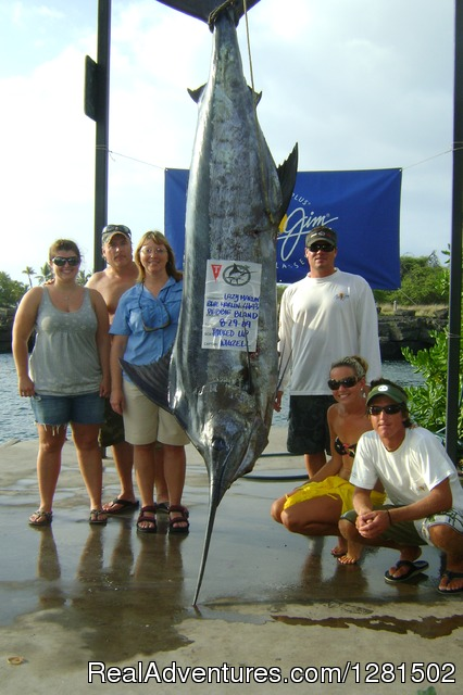 1st place Marlin Tournament - Hooked Up Sportfishing