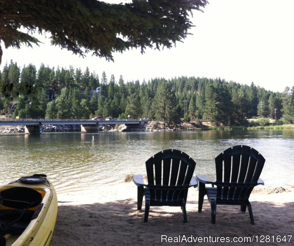 Free Kayaking & Canoe use...Or just sit & Enjoy | Image #5/6 | Quaint Inn in the Idaho Mountains, Ashley Inn