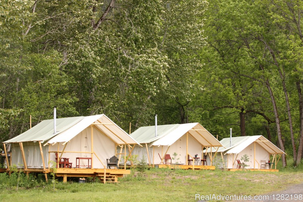 Glamping (Glamorous Camping) at River Dance Lodge | Image #5/20 | River Dance Lodge