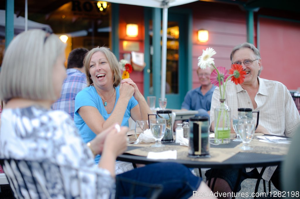 Patio Dining at the Syringa Cafe at River Dance Lodge | Image #9/20 | River Dance Lodge