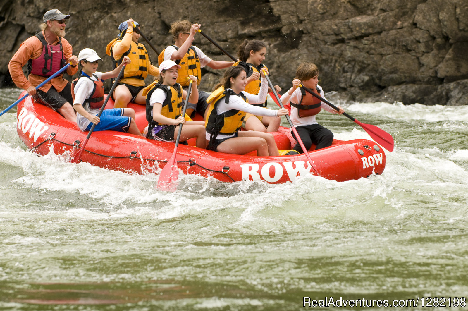 Guided Rafting on the Selway River