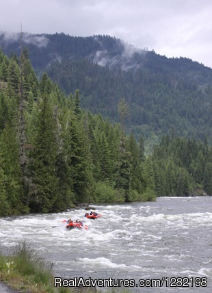 Guided Whitewater Rafting on the Lochsa River