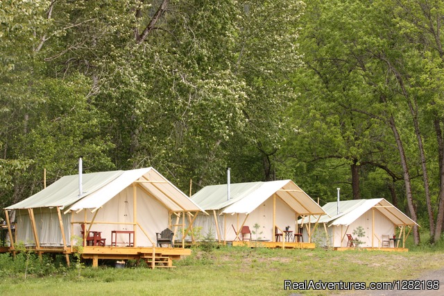 Glamping (Glamorous Camping) at River Dance Lodge - River Dance Lodge