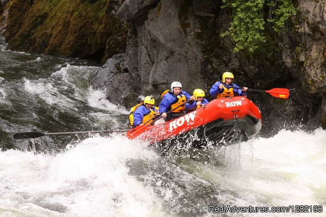 Guided Whitewater Rafting on the Famous Lochsa River