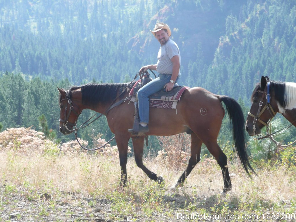 Bed and Breakfast guest ranch located in Idaho. Horse trail rides, White water rafting, Jet boat tours on the  Snake River and Salmon river.