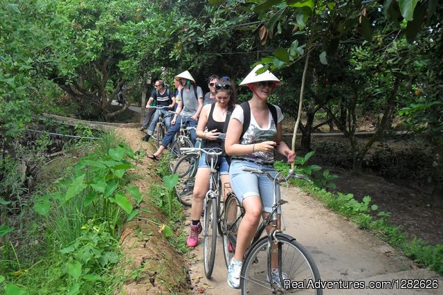 Cycling around Mekong Rustic - Discover The beauty of Rustic Mekong Delta