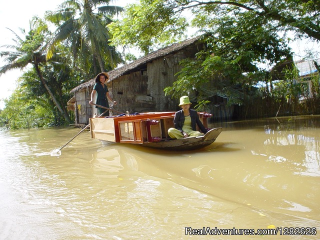Cruising around Mekong Rustic - Discover The beauty of Rustic Mekong Delta
