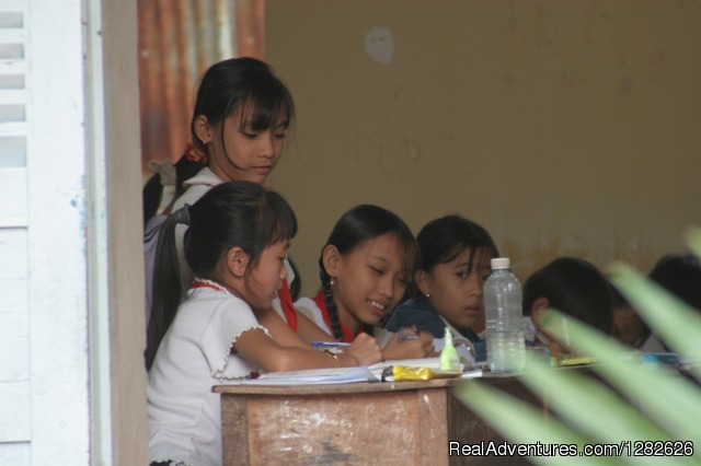 Local primary school around Mekong Rustic - Taste of  Mekong Delta