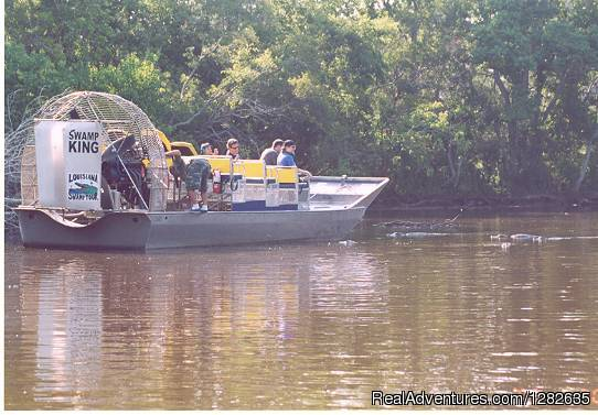 16 Passenger Airboat Tours