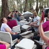 Eco-swamp tours at Cajun Country Swamp Tours Breaux Bridge, Louisiana Scenic Cruises & Boat Tours