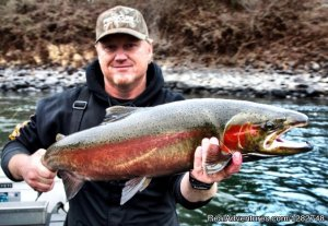 Catch Giant B-Run Steelhead with Stotts Fishing Lewiston, Idaho Fishing Trips