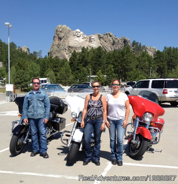 Mount Rushmore in South Dakota - Luxury Custom Motorcycle and Sports Car Tours