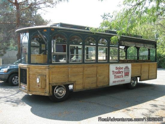 Image #1/1 | Boise, Idaho  | Sight-Seeing Tours | Boise Trolley Tours