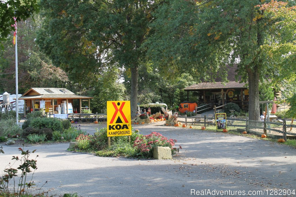 Welcome to our KOA | Image #4/4 | Huntington Fox Fire KOA Kampground