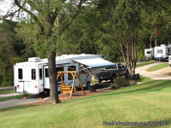 Hocking Hills KOA & Gem Mine Campgrounds & RV Parks Logan, Ohio
