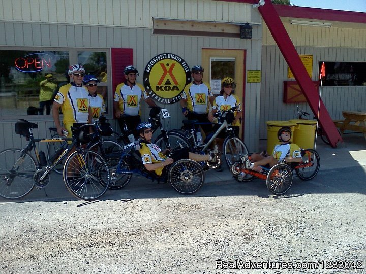 'Team KOA' Hotter-N-Hell 100 bike ride | Image #3/9 | Burkburnett/Wichita Falls KOA