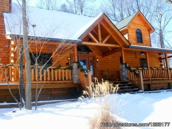 Perfect for Winter Getawways | Image #24/26 | Adventurewood Log Cabin HotTub/Fireplace/PoolTable