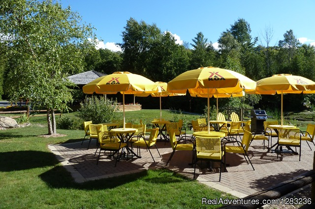 Petoskey KOA Cafe Patio - Petoskey KOA