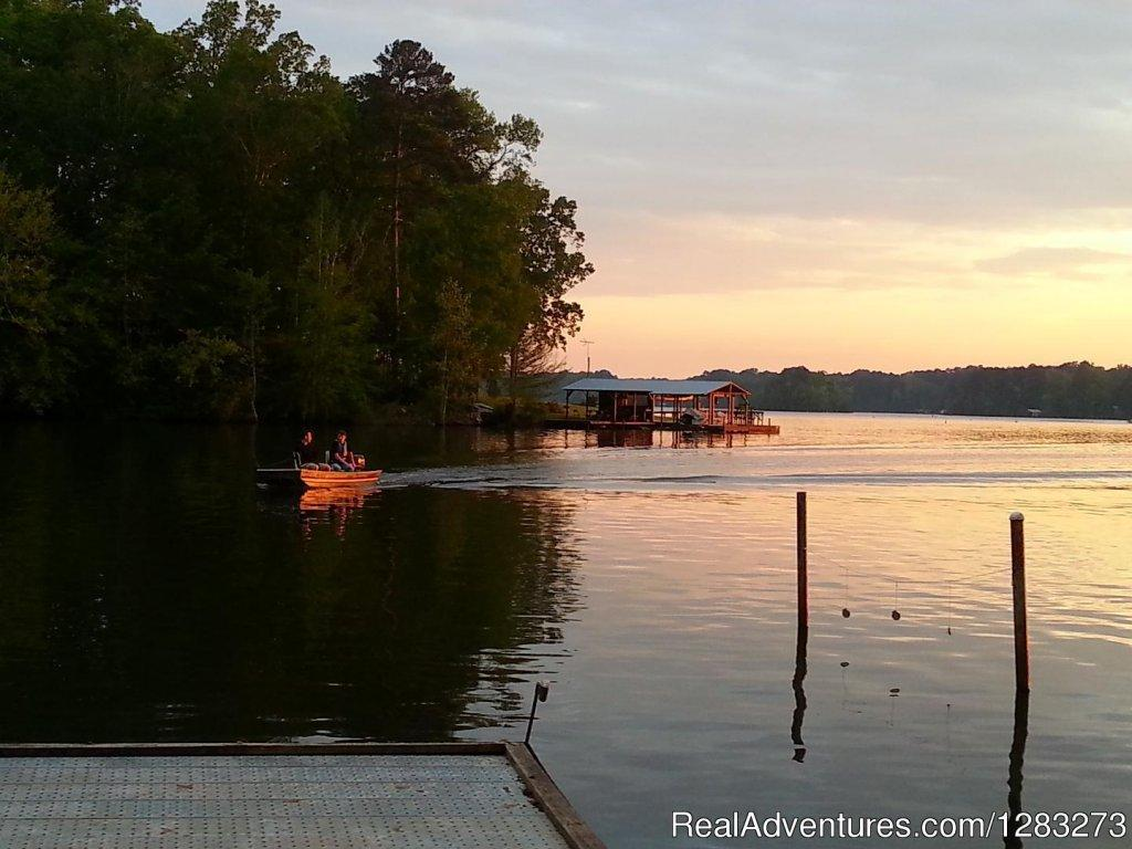 Hidden Treasure RV boating guest | Image #9/14 | Get The Best Sleep At Hidden Treasure RV Resort