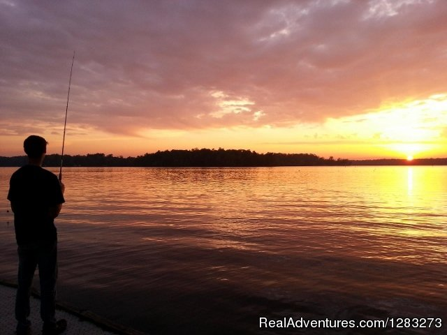 Hidden Treasure RV dock fishing | Image #12/14 | Get The Best Sleep At Hidden Treasure RV Resort