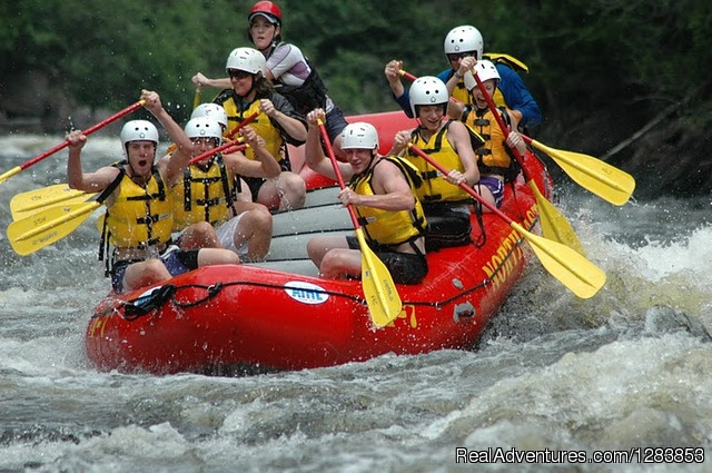 Maine Whitewater Rafting - Northeast Whitewater
