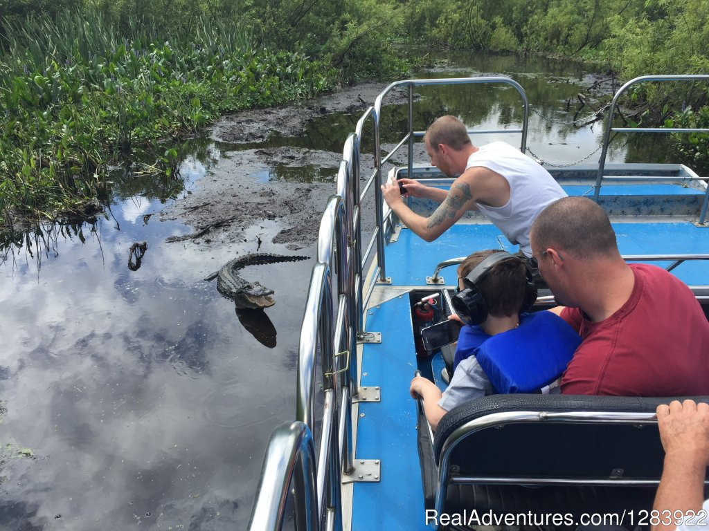 'BJ'S Airboat Adventures' Bushnell, Florida  Sight-Seeing Tours