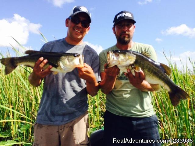 Florida bass fishing guides orlando florida fishing for Florida fishing vacations