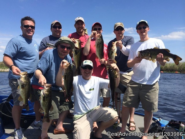 Florida bass fishing guides orlando florida fishing for Florida bass fishing guides