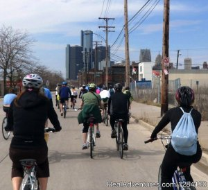 Motor City Brew Tours Detroit, Michigan Bike Tours