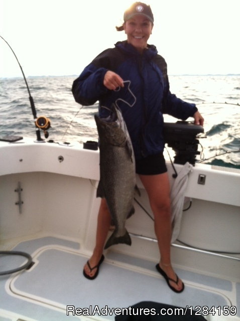Chinook Salmon - CoHooker Charter Service
