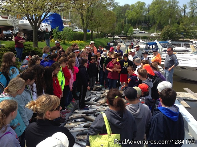 6th Grade Fishing Outing - CoHooker Charter Service