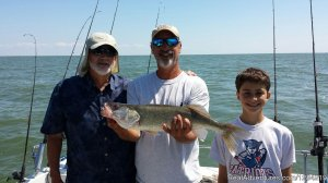 Stray Cat Charter Fishing La Salle, Michigan Fishing Trips