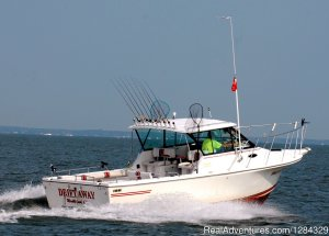 Drift Away Charters Lakeside Marblehead, Ohio Fishing Trips