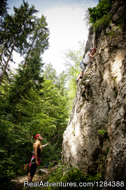 Our sports earth: Climbing - NaturAvantura / NaturPlac B&B