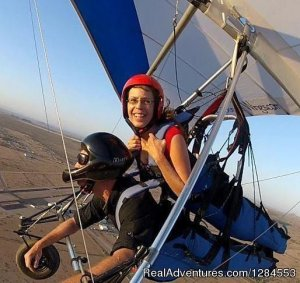 Tandem Hang Gliding Flights Sonora Wings Arizona Maricopa, Arizona Hang Gliding