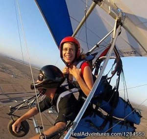 Tandem Hang Gliding Flights Sonora Wings Arizona Hang Gliding Maricopa, Arizona