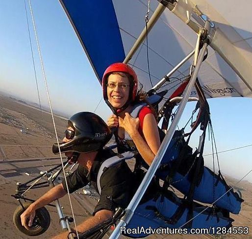 Tandem Hang Gliding Flights Sonora Wings Arizona